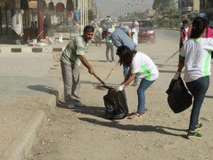 حملة تطوعية للحفاظ على نظافة الحسكة