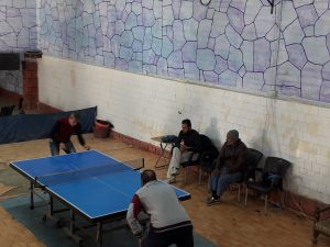 Idlib's Table Tennis League