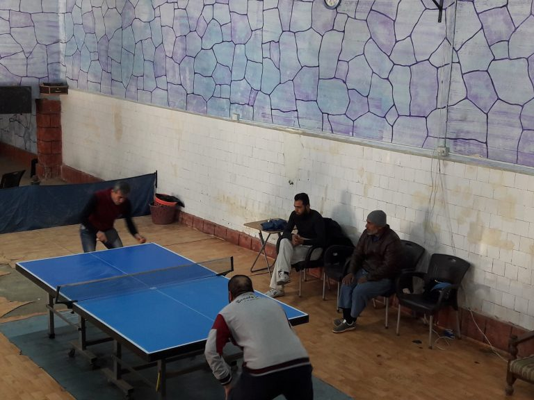 Idlib's Table Tennis League