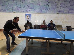 دوري لرياضة كرة الطاولة في محافظة ادلب