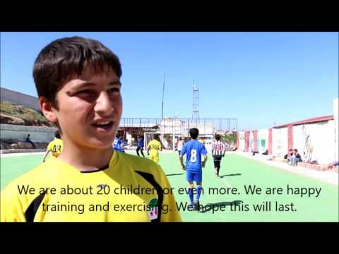 Sports Instead of War for Syrian Children