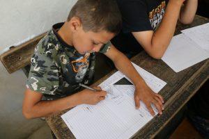 آلاف الطلاب السوريون أدوا امتحانات نهاية العام الدراسي