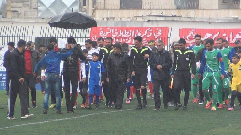 Football Returns to Idlib