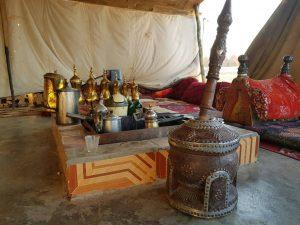 الخيمة البدوية رمز الأصالة والكرم