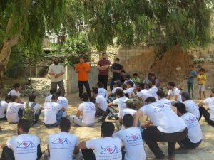 المعسكر الطلابي الأول لجامعة إدلب