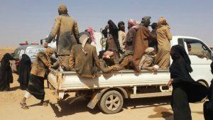 مأساة النازحين في الصحراء
