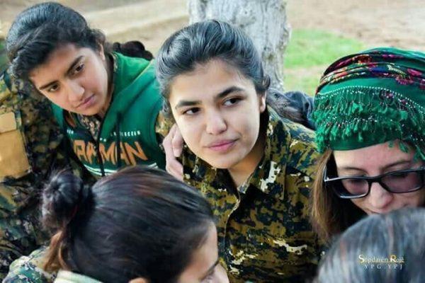PKK uses underage girls in hostilities - Spodaren Roje - YPJ organization