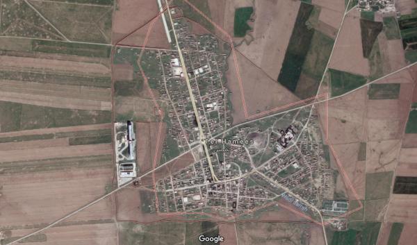 Tal Hamis map - Google