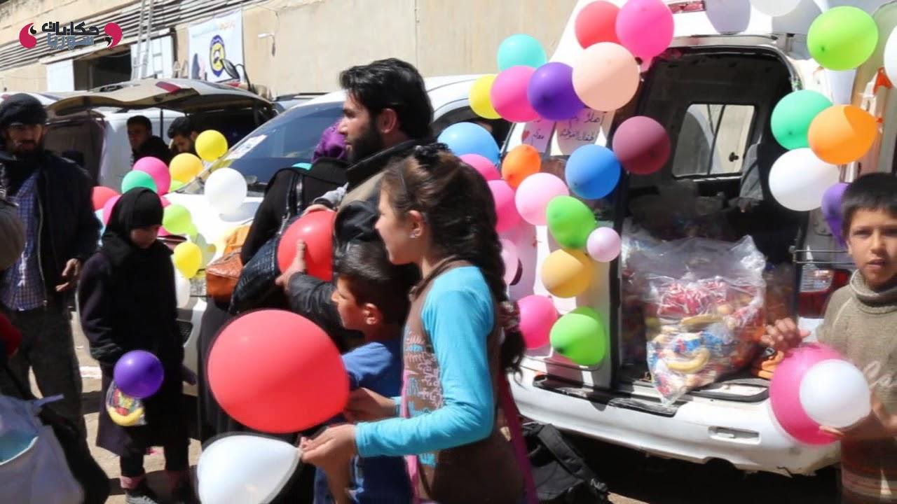 دفعة جديدة من مهجري الغوطة في الطريق إلى إدلب