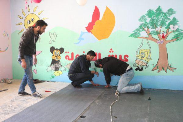 إنطلاق حملة عيش الطفولة في ريف إدلب - تصوير أحمد الحاج بكري