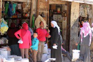 سوق عزرا في القامشلي
